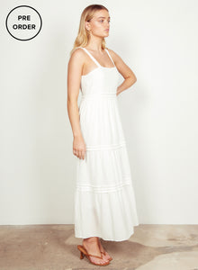 Sofia Dress - White - Wish the Label