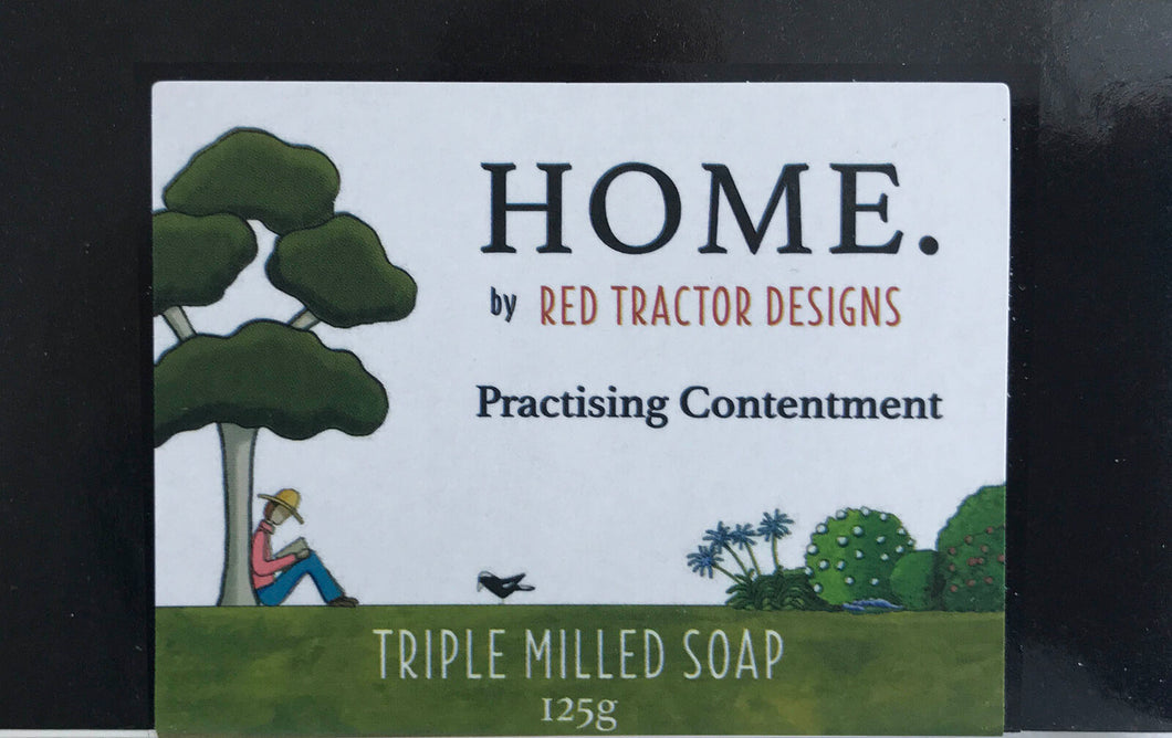 Practising Contentment Soap  | Red Tractor