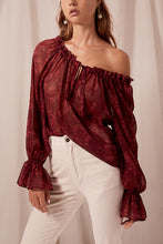 Load image into Gallery viewer, Sahara Blouse- Pinot | Steele