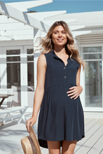 Load image into Gallery viewer, Sophia Dress II (Navy)