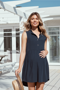 Sophia Dress II (Navy)