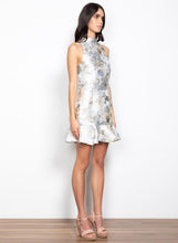 Load image into Gallery viewer, Checklist Dress Silver | Wish