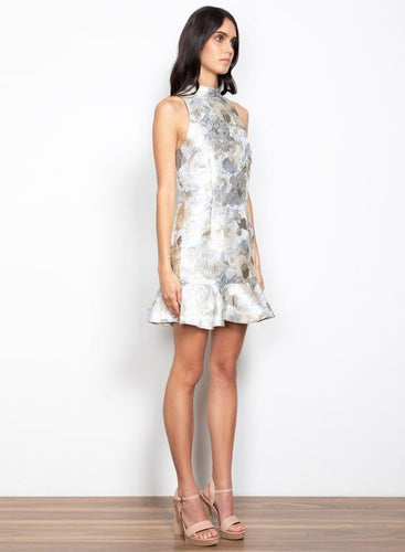 Checklist Dress Silver