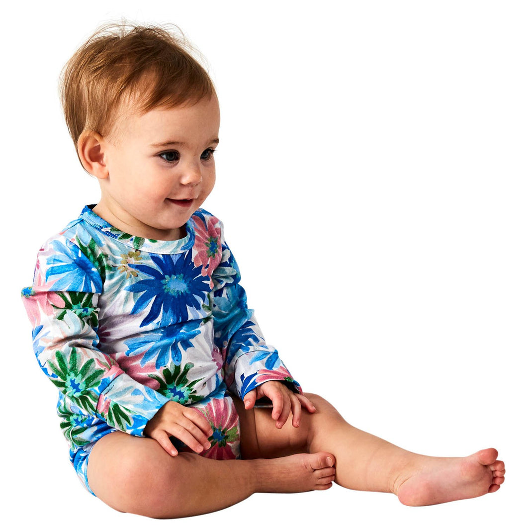 Petal Power Organic LS Romper | Kip & Co
