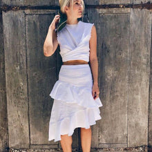 Load image into Gallery viewer, Calypso Skirt (White)
