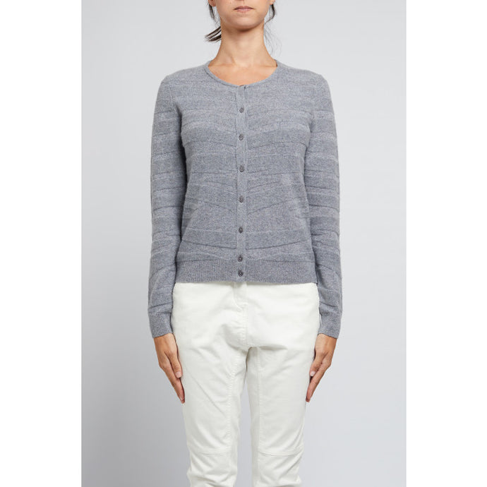 Cashmere Wave Cardigan