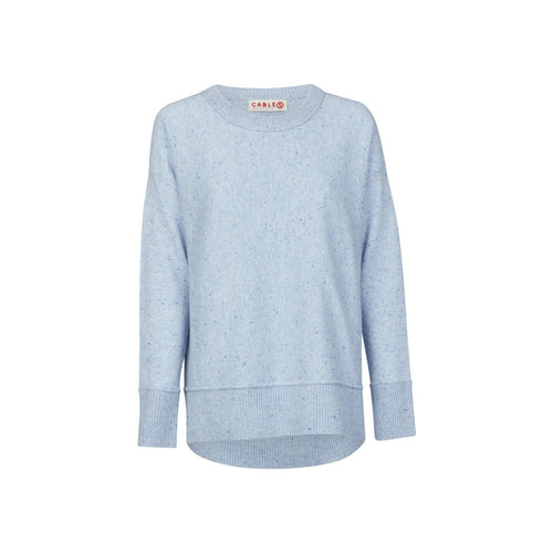 Cashmere Weekend Sweater (Chambray)