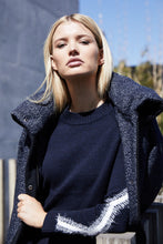 Load image into Gallery viewer, Piper Sweater- Navy