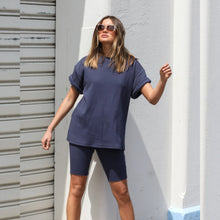 Load image into Gallery viewer, Johnny T-Shirt - Dusty Navy - Alexandra
