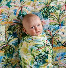 Load image into Gallery viewer, COLOMBO BAMBOO Baby Swaddle | Kip & Co