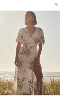 Load image into Gallery viewer, Auguste - Alice Annika Wrap Maxi Dress, Ivory