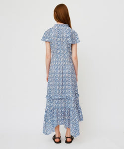 belle print dress, morrison the label