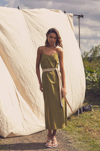 Sonoran Midi in Banana Leaf Green | Lune Resort