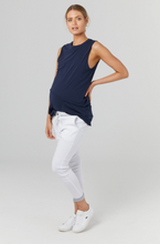 Load image into Gallery viewer, The Nursing Tank (Navy) | LEGOE