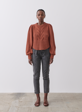 Load image into Gallery viewer, Kristin Cotton Cashmere Knit, Spiced Marle | JOSLIN