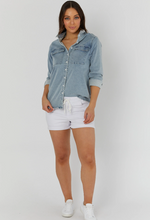 Load image into Gallery viewer, Denim Cut Off (White) legoe heritage