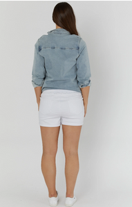 Denim Cut Off (White) legoe heritage