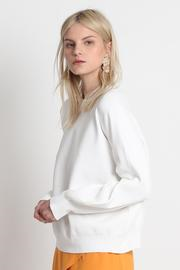 Excuse Me Midi Sweater - White