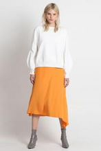 Load image into Gallery viewer, Excuse Me Midi Sweater - White