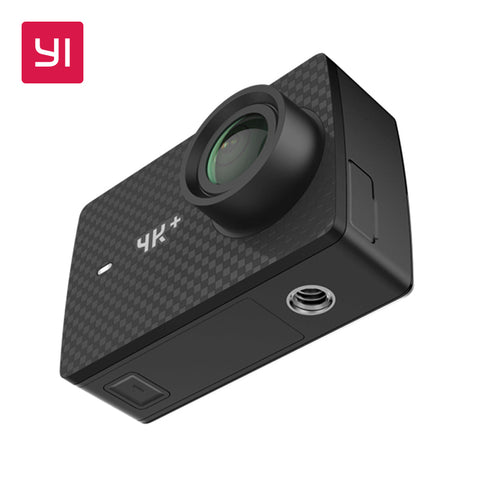 "YI 4K+(Plus) Action Camera only International Edition FIRST 4K/60fps Amba H2 SOC Cortex-A53 IMX377 12MP CMOS 2.2""LDC RAM WIFI"