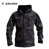 Tactical Men Winter Autumn Jacket Waterproof Wearproof, Windproof