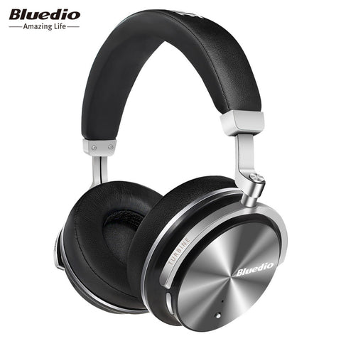 Bluedio T4S Active Noise Cancelling Wireless Bluetooth Headphones with microphone for phones