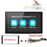 Navivox 7'' 2 din Car Multimedia Player  Android 7.1.1 Quad Core Universal GPS  Radio GPS Stereo Audio Player for nissan no dvd
