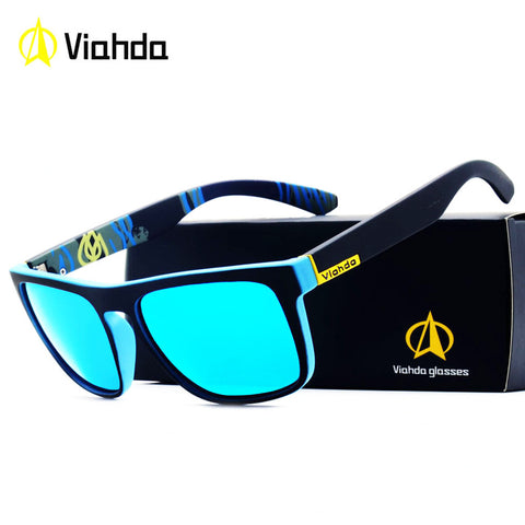 Viahda 2018 Popular Brand Polarized Sunglasses Sport Sun Glasses Fishing Eyeglasses De Sol Masculino