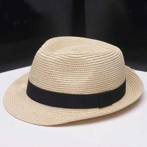 Natural Paper Straw Hat for Adult Kids