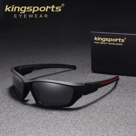 KINGSPORTS 2018 New Night Vision Sunglasses Men Brand Designer Fashion Polarized Driving Sun Glasses Shades Eyewear Gafas Oculos