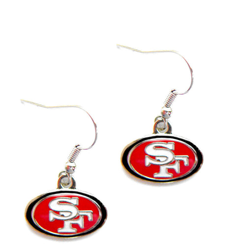 San Francisco 49ers Dangle Earrings