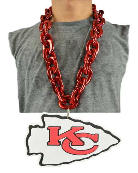 Kansas City Chiefs Logo Chain Necklace