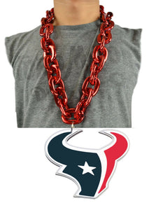 Houston Texans Logo Chain Necklace