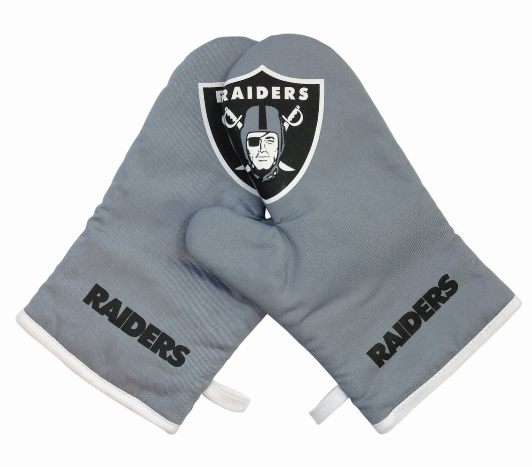 Las Vegas Raiders Oven Mitts