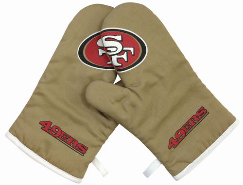 San Francisco 49ers Oven Mitts