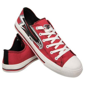 Atlanta Falcons Canvas Shoes Low Top