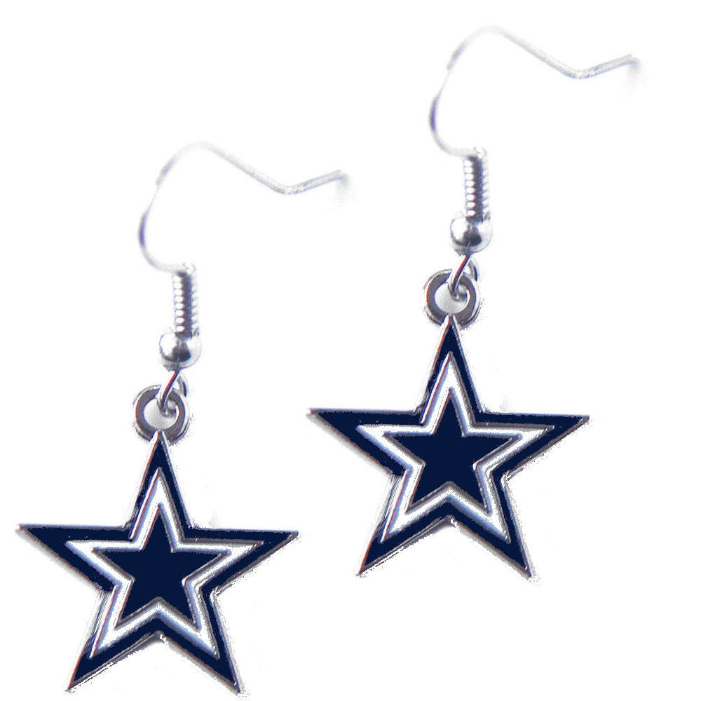 Dallas Cowboys Dangle Earrings