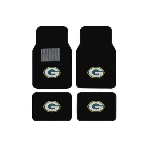 Green Bay Packers Vehicle Floor Mats