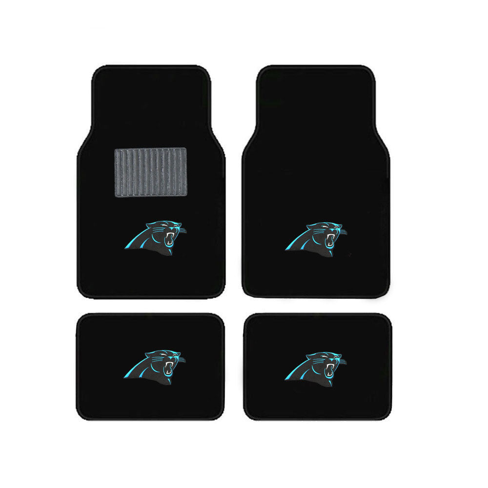 Carolina Panthers Vehicle Floor Mats