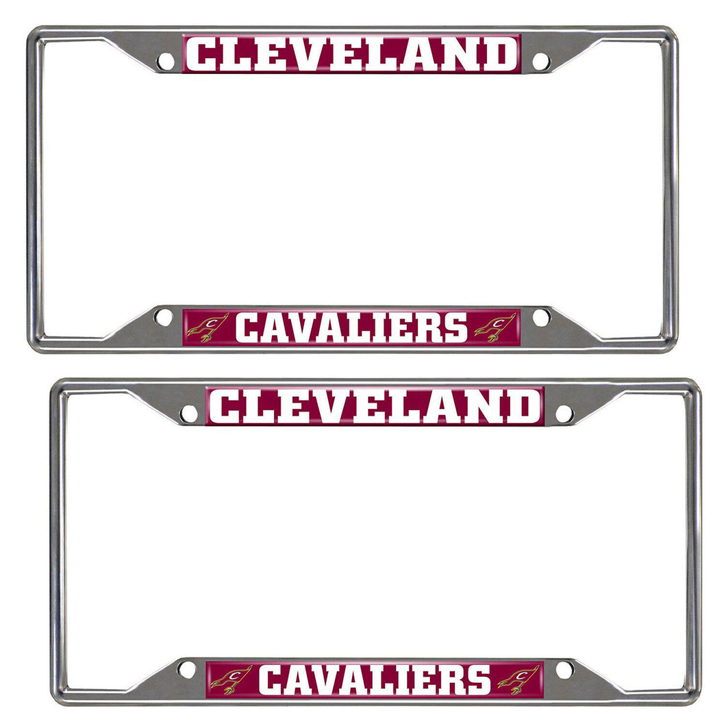 Cleveland Cavaliers 2-Piece License Plate Frames