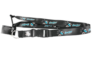 San Jose Sharks Lanyard Key Chain