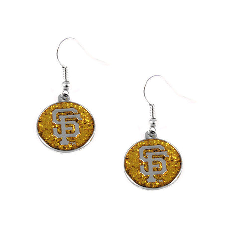 San Francisco Giants Pierced Shimmer Earrings