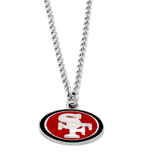 San Francisco 49ers Logo Necklace