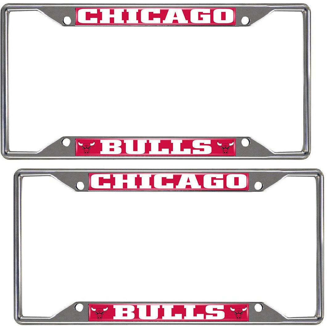 Chicago Bulls 2-Piece License Plate Frames