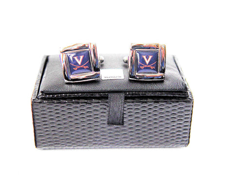 Virginia Cavaliers Cuff Links with Case