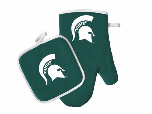 Michigan State Spartans Oven Mitt & Pot Holder Set