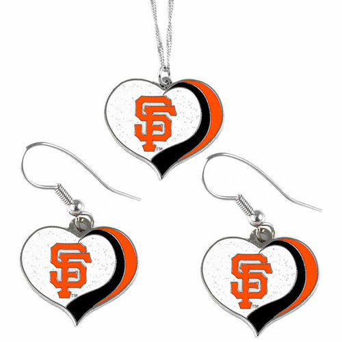 San Francisco Giants Jewelry Set