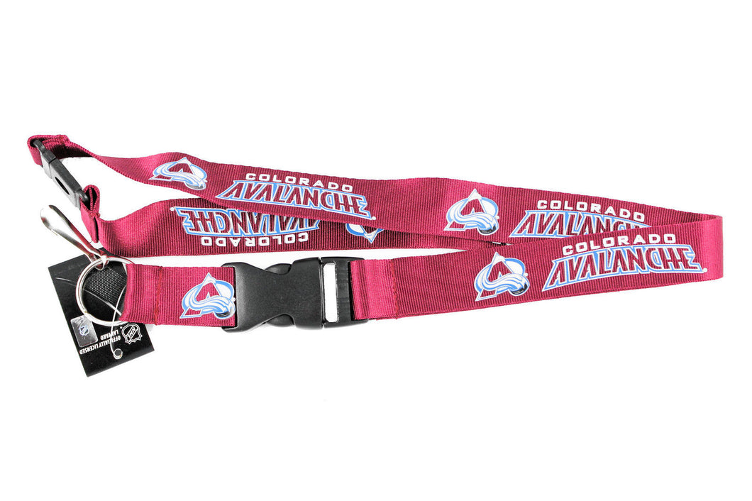 Colorado Avalanche Lanyard Key Chain