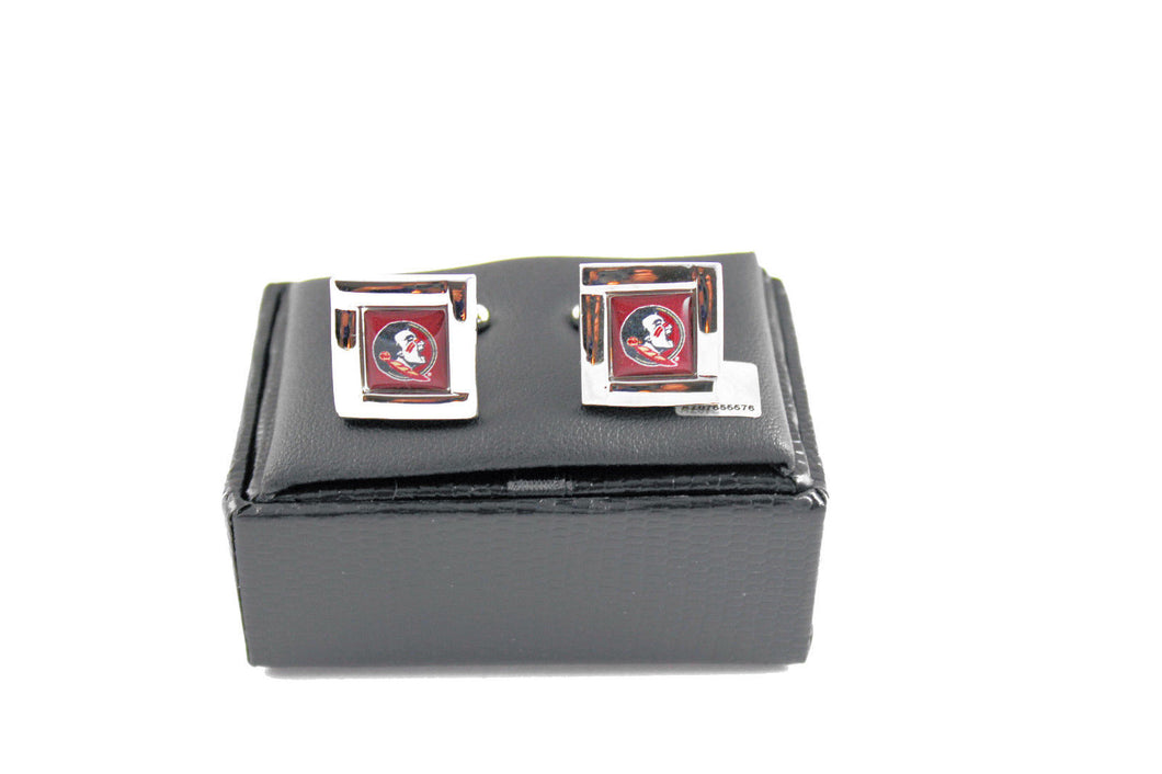 Florida State Seminoles Cuff Links with Case