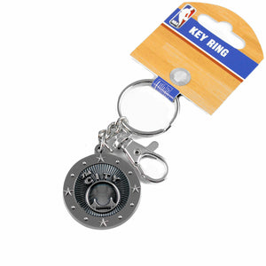 Golden State Warriors City Key Ring with Charm & Clip